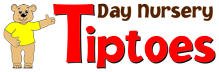 Tiptoes Day Nursery Logo